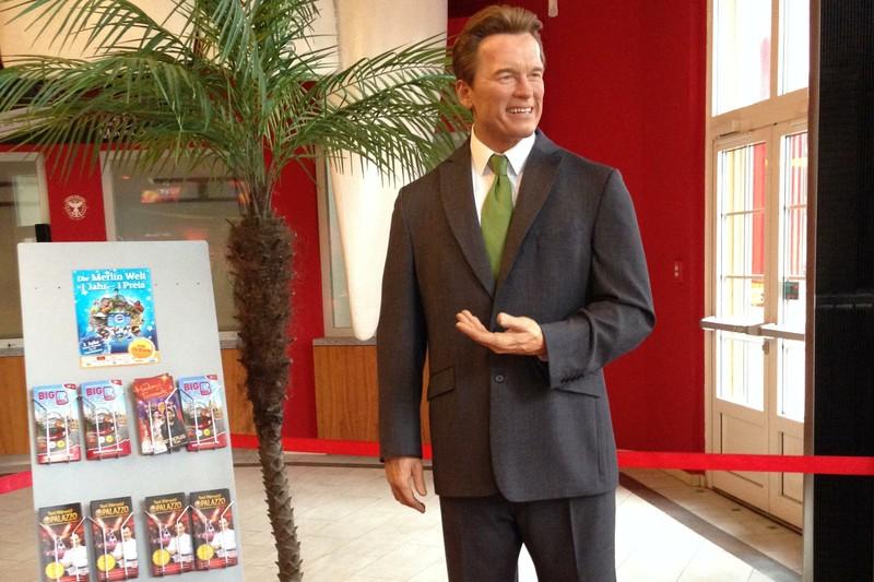 Arnold wax figure