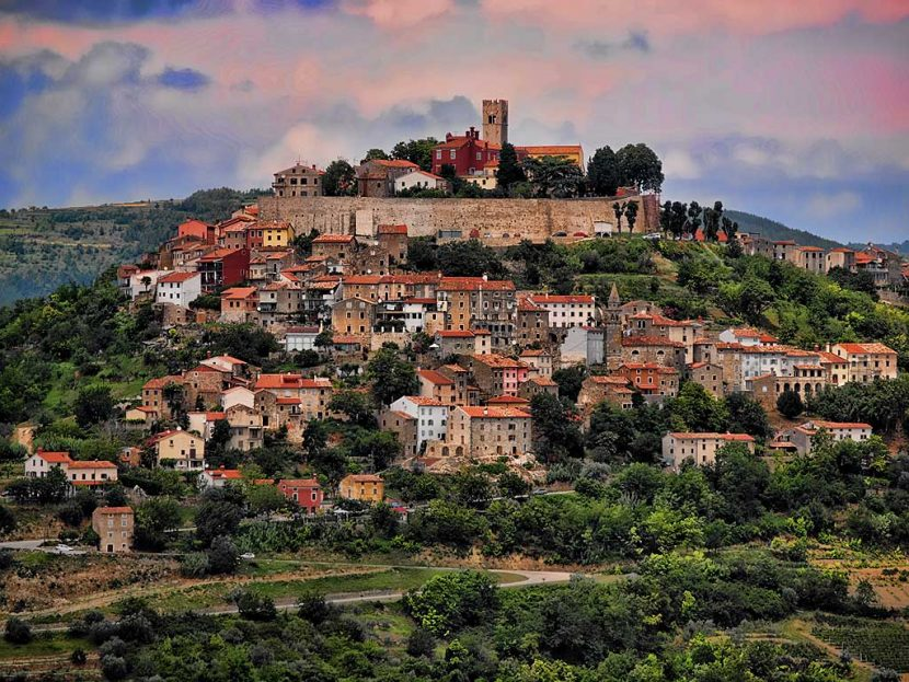 Motovun in Istria, Croatia