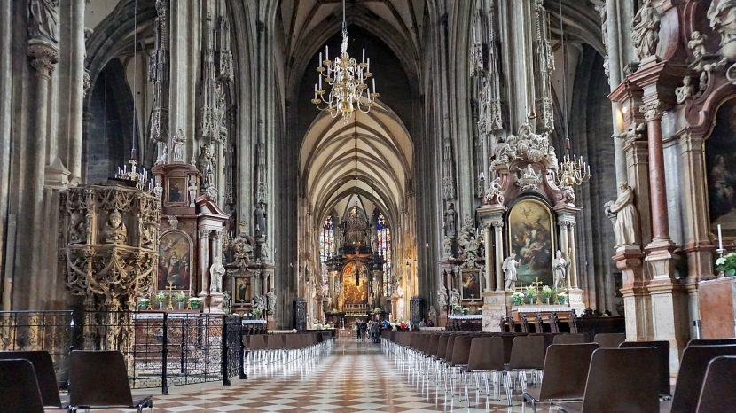 Stephansdom — the Pearl of Royal Austria; Interior