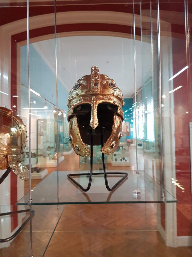 Helmets in Museum of Vojvodina