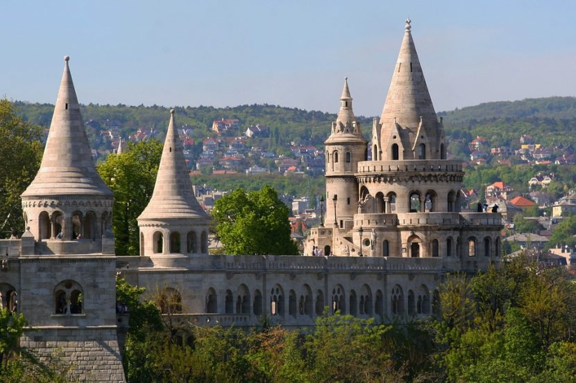 Fisherman bastion - top 10 things to see in Budapest