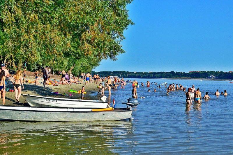 Vukovar beach