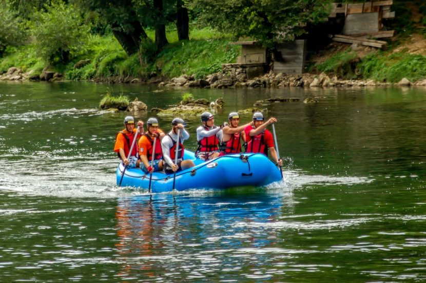 Rafting on Vrbas