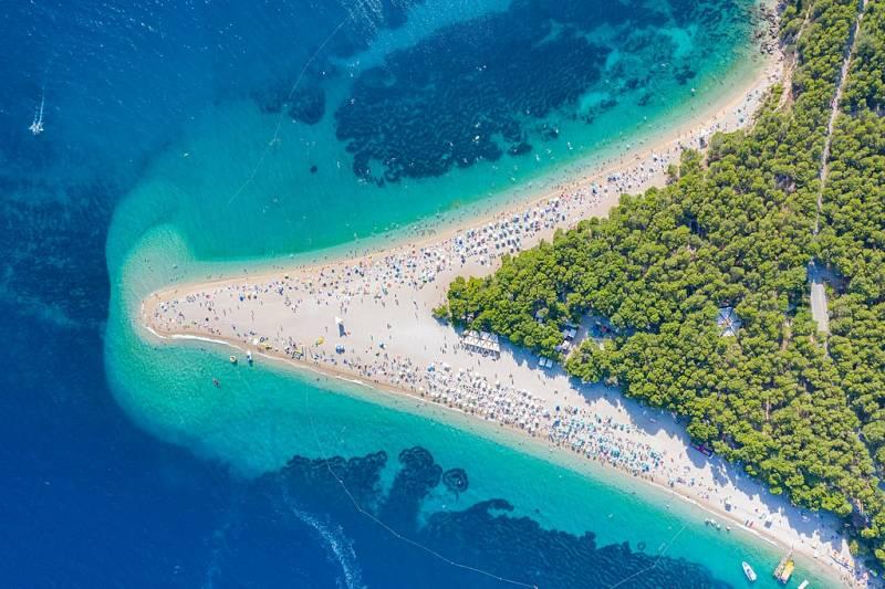 Zlatni Rat in Croatia