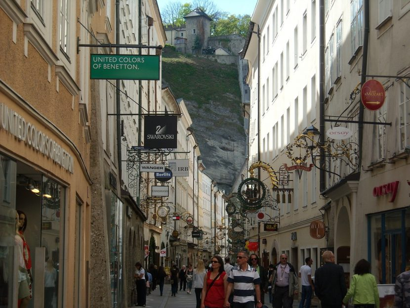 Getreidegasse in Salzburg