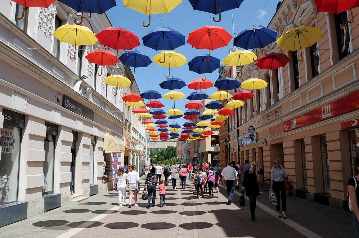 Gospodska street in Banja Luka