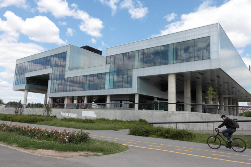 New building of the Museum of Contemporary Art