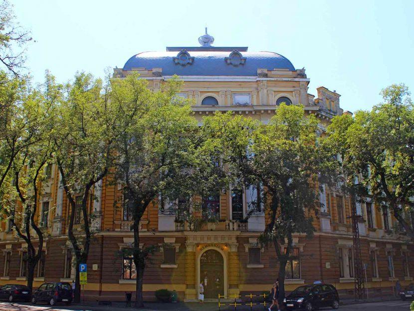 Subotica City Tour - High School Building Gymnasium