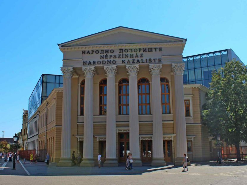 Subotica City Tour - National Theatre