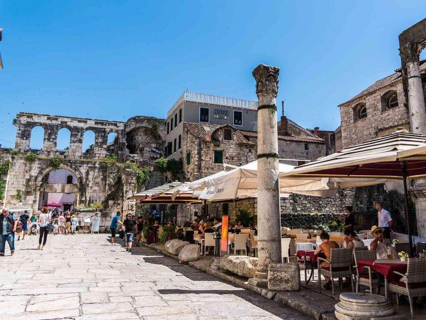 Things to Do in Split: Peristil Square