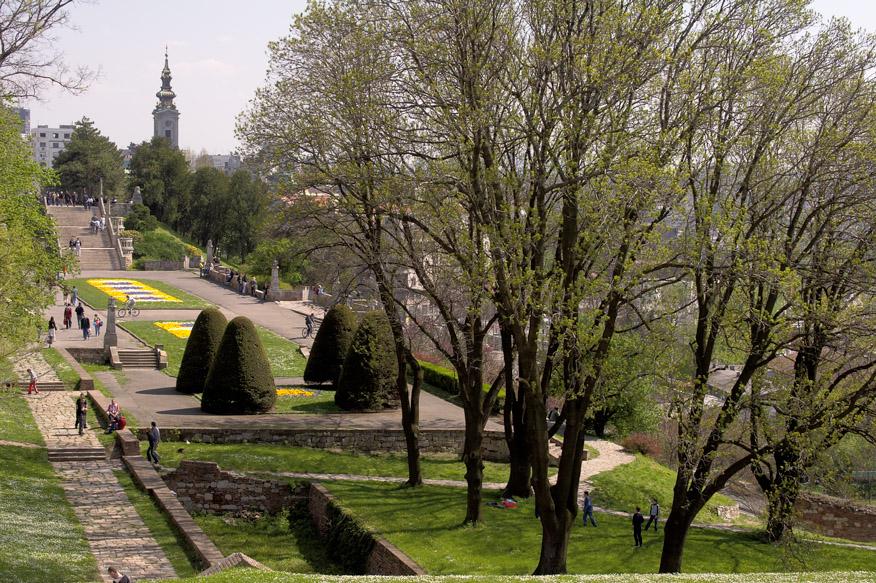 Belgrade Fortress Kalemegdan Park