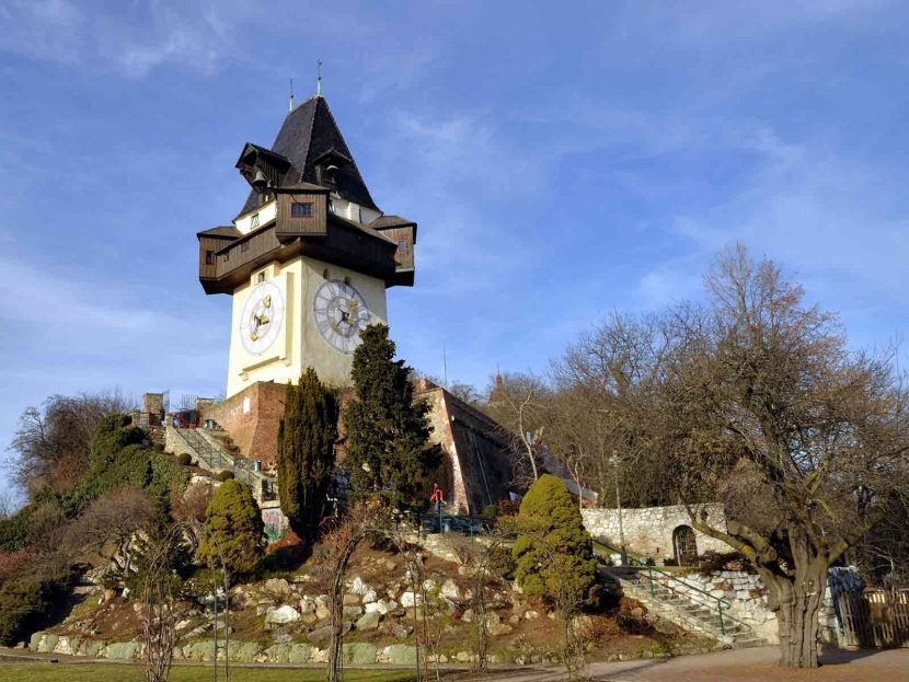 Fall in love with Graz Schlossberg