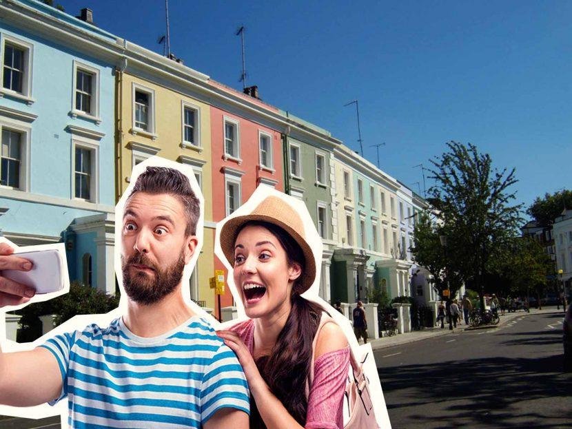 Top 10 London Selfie Spots Notting Hill