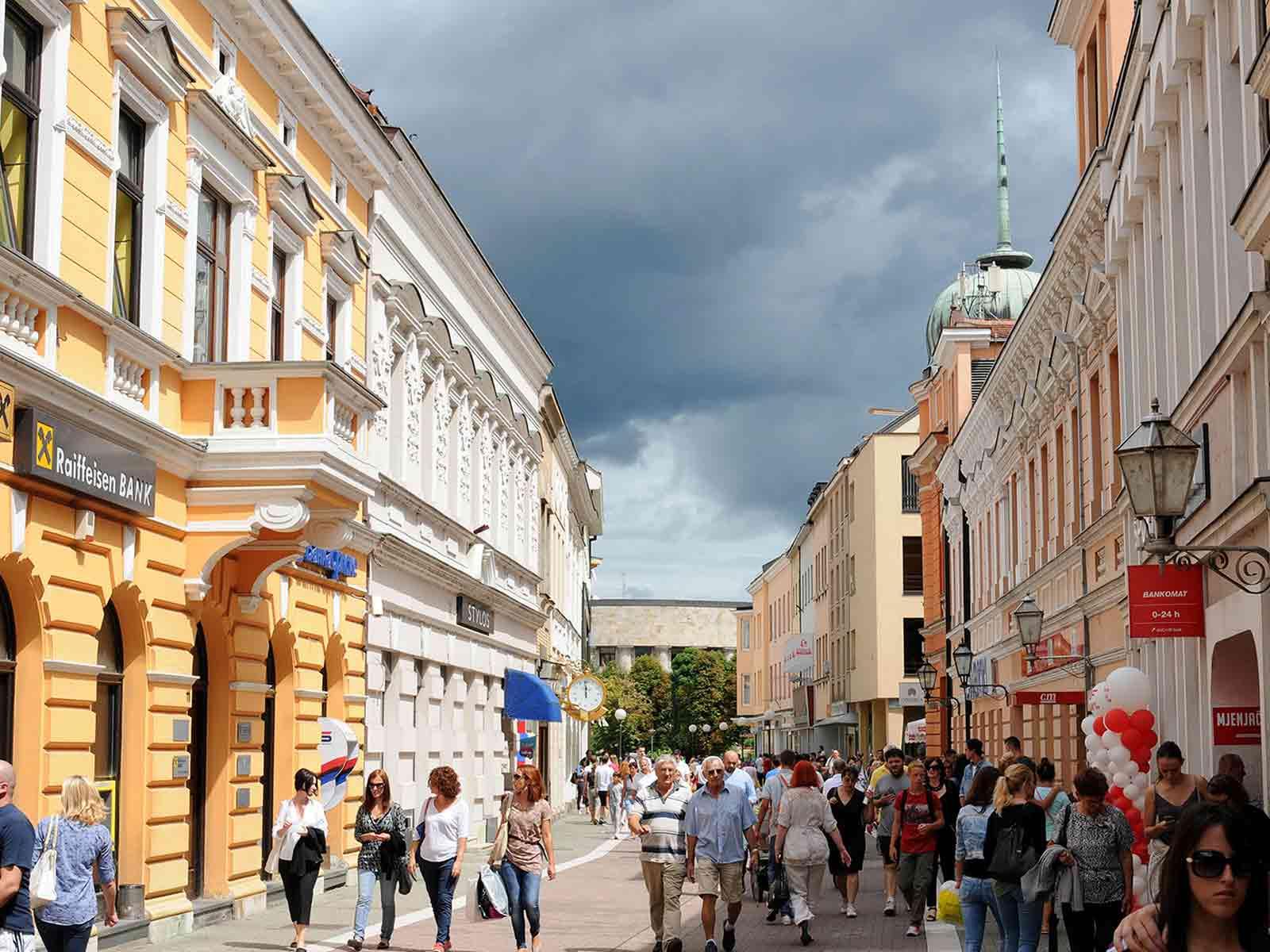 Banja Luka Guide for First-Time Visitors Gospodska street