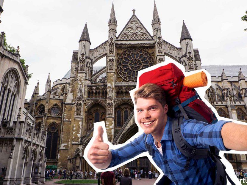 top 10 London Selfie spots Westminster Abbey church