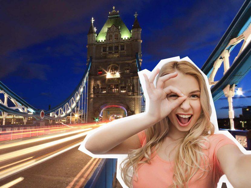 top 10 London selfie spots Tower Bridge