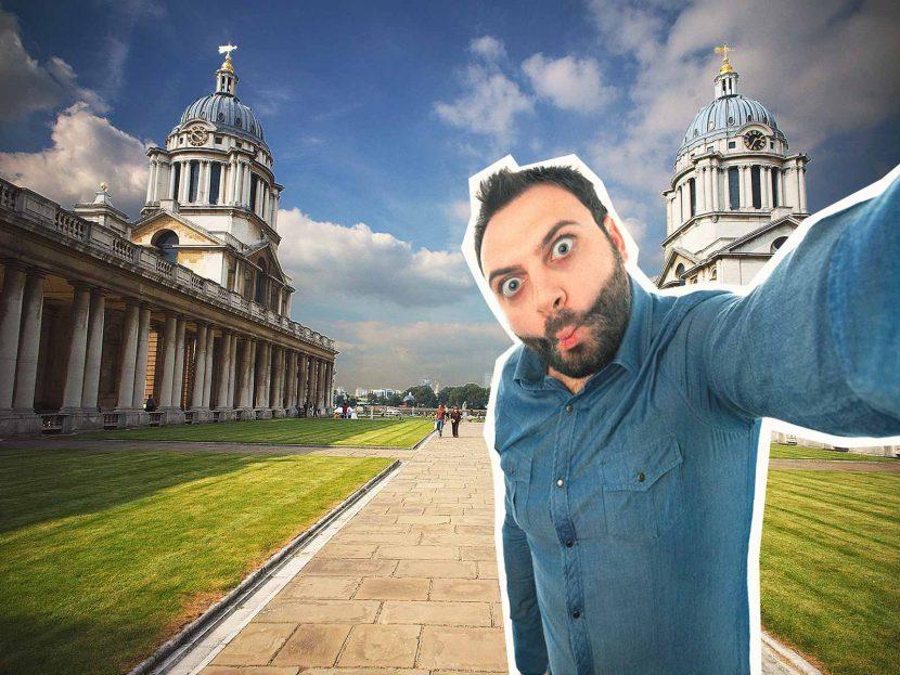 top 10 London selfie spots Old Royal Naval College