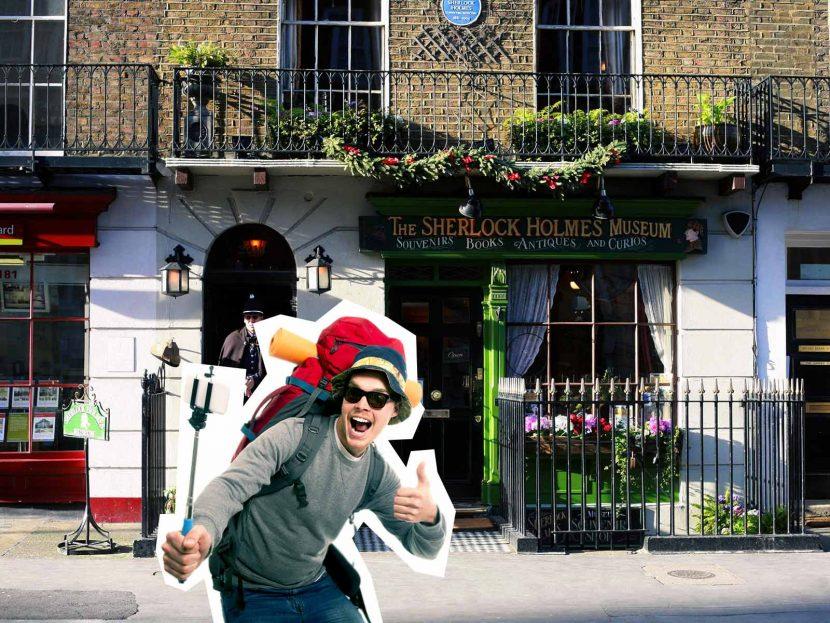 top 10 London selfie spots Sherlock Holmes Museum