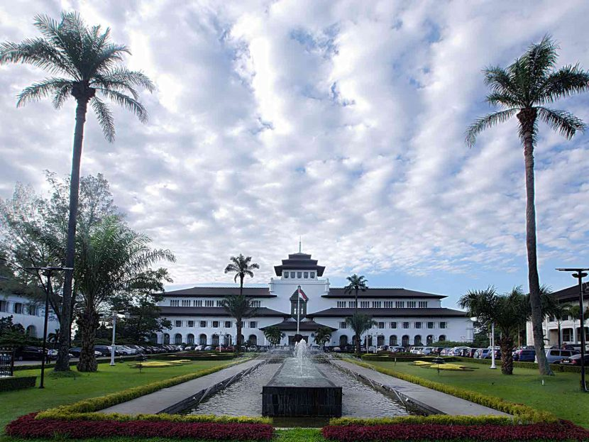 Sate Building Bandung - The Paris of Java