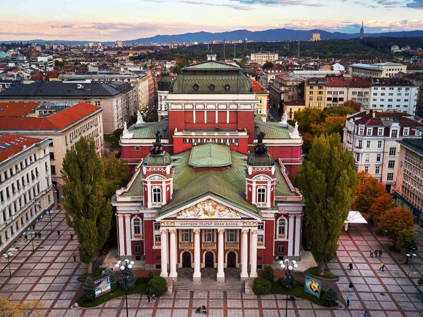 What to do When in Sofia Ivan Vazov National Theatre