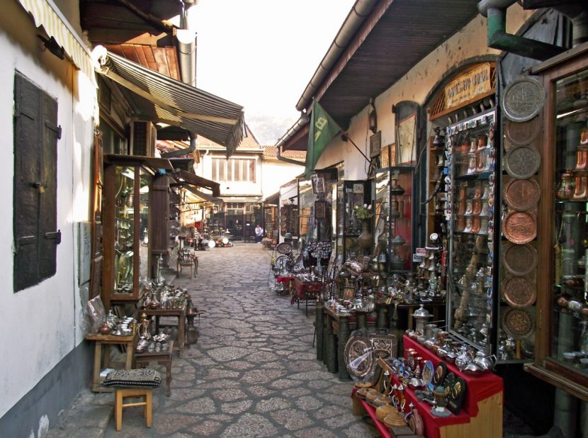 Top 10 Places to Visit in Bosnia and Herzegovina Sarajevo Bascarsija