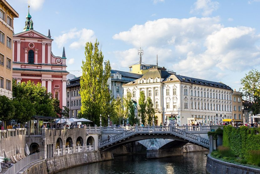 Top 10 things to do in Ljubljana Triple bridge