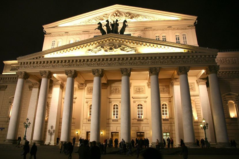 A Quick Guide to Moscow Bolshoi theatre