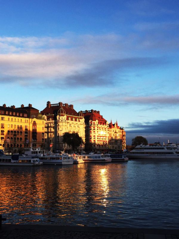 10 Reasons Why You'll Love Stockholm Strandvägen in sunset