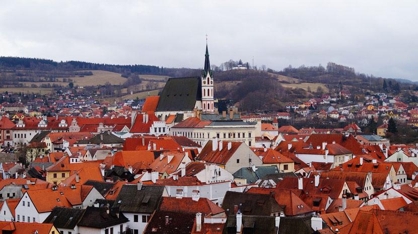 Best Small Cities in Europe Český Krumlov