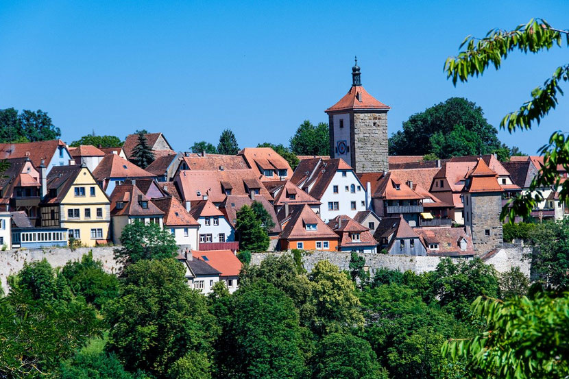 Best Small Cities in Europe Rothenburg ob der Tauber