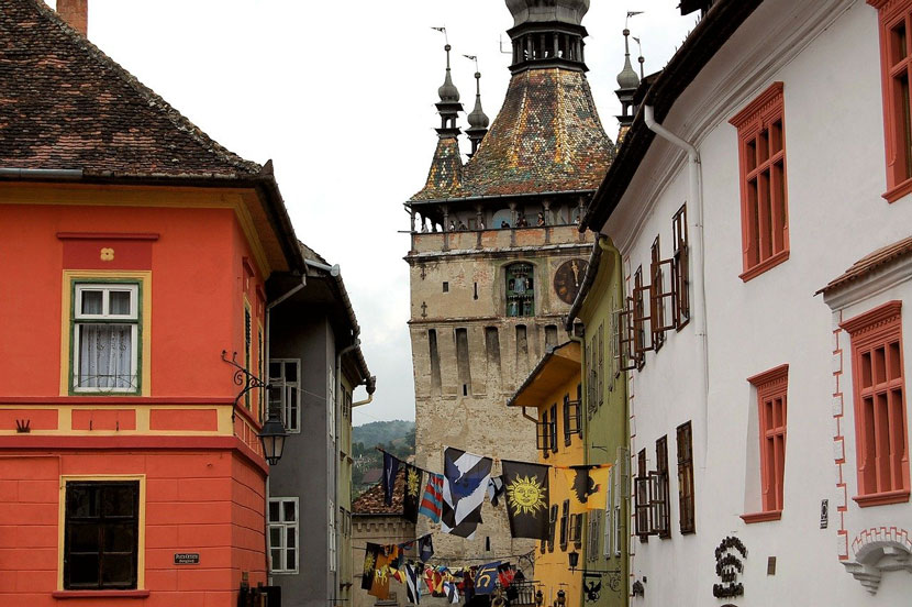 Best Small Cities in Europe Sighisoara