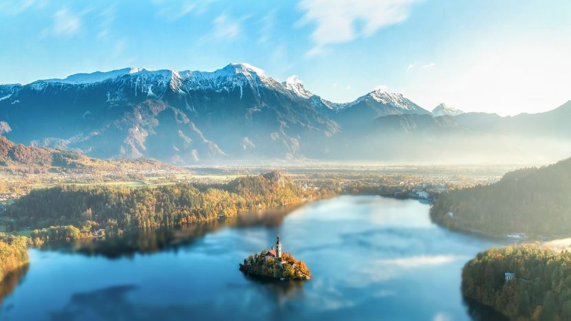 Top 5 Small Cities in Europe Bled Slovenia