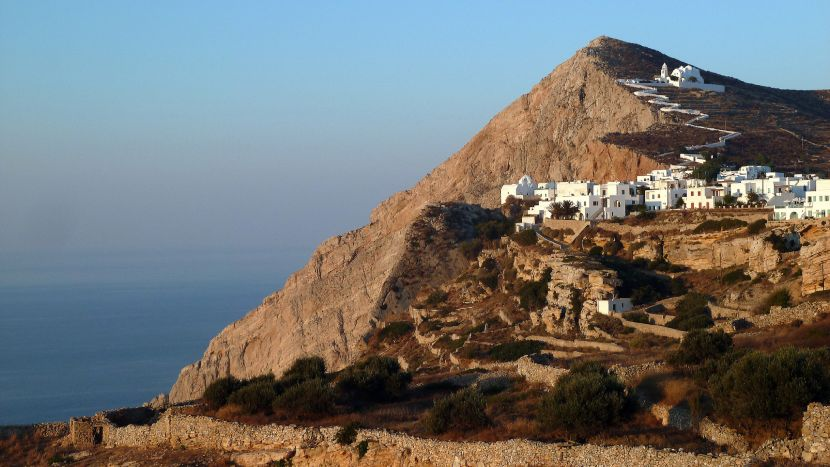 Top 5 Small Cities in Europe Folegandros, Greece