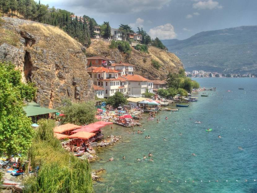 Discovering Ohrid - Kaneo Beach
