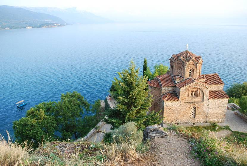 Discovering Ohrid - St. John at Kaneo