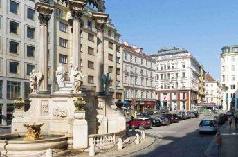 Explore the Heart of the Old Vienna Weddingfountain CC0 1.0