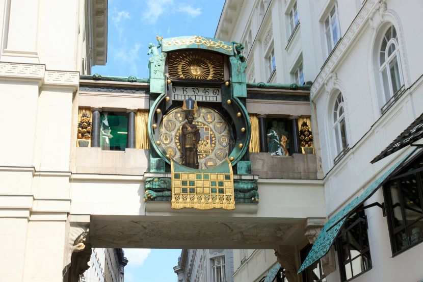 Explore the Heart of the Old Town of Vienna Ankeruhr