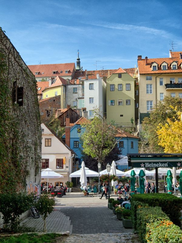 Top 10 Instagrammable Places in Zagreb Tkalciceva street