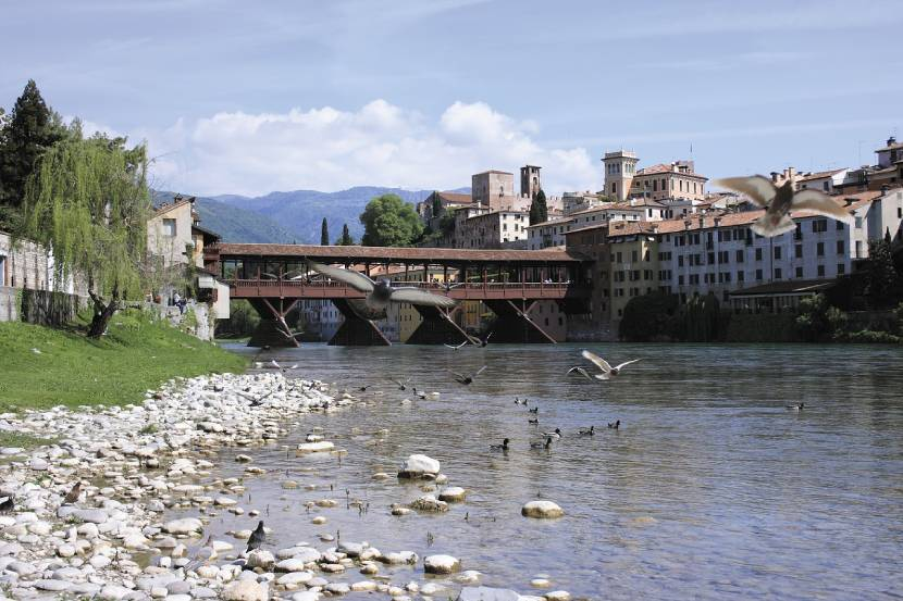Most Beautiful Riverfront Cities in Europe Bassano del Grappa