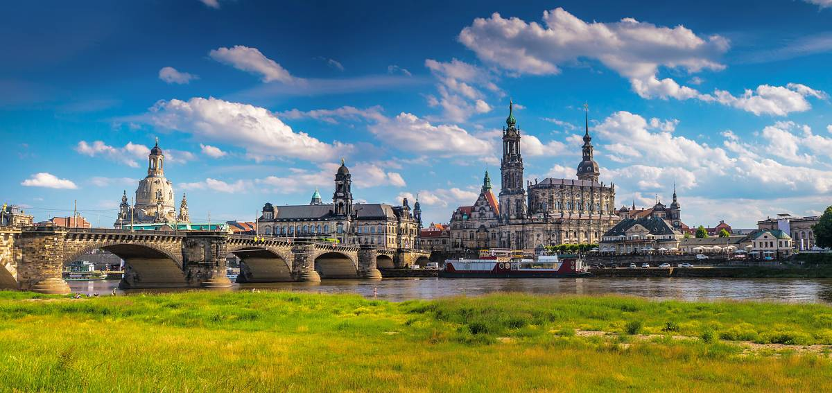 Dresden is one of the best cities to discover history