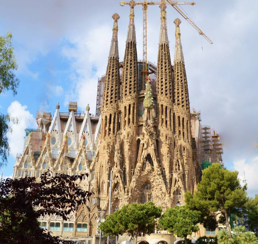 Most Iconic Landmarks in Europe Sagrada Familia