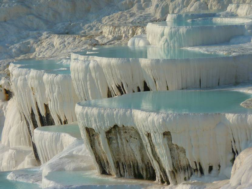 Extraordinary and Unique Places in The World Pamukkale Turkey