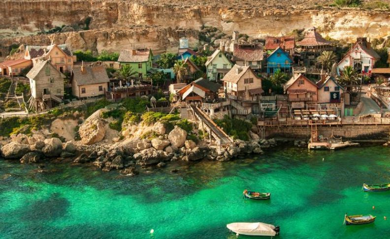 Extraordinary and Unique Places in The World, Popeye Village, Malta