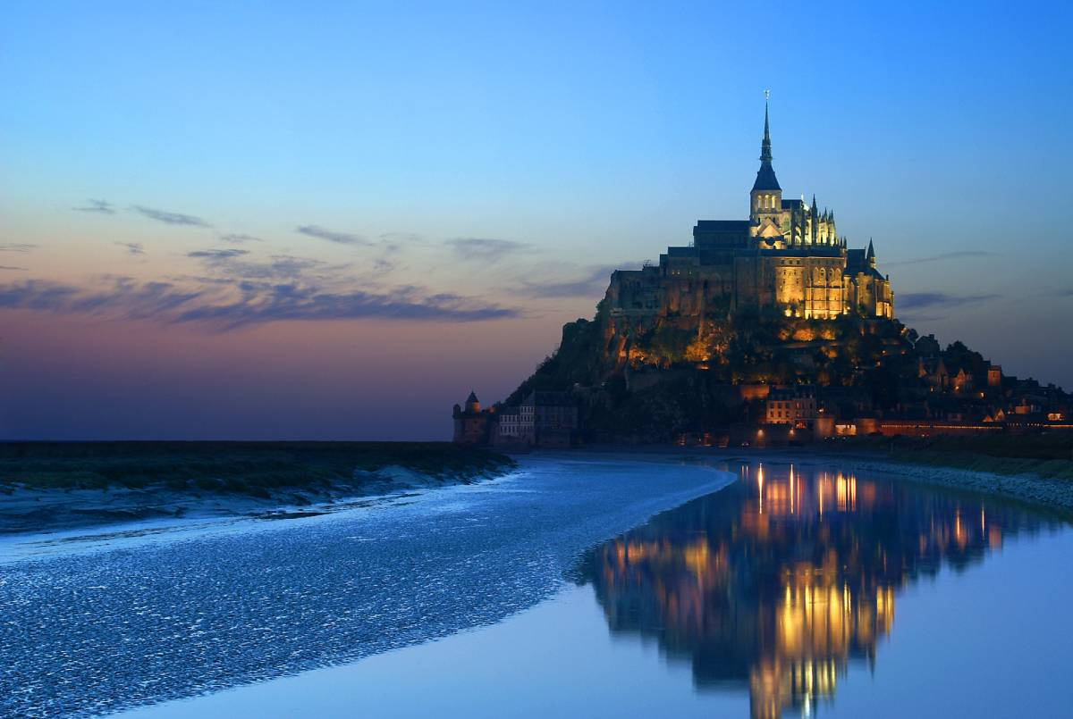 Extraordinary and Unique Places in The World, Mont Saint Michel, France