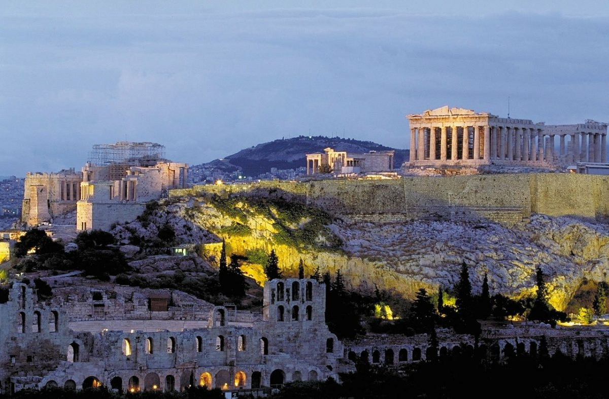 City tours of Athens