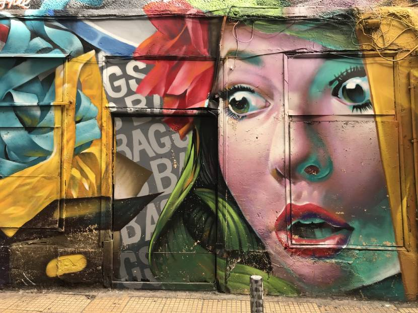 Picturesque Places in Athens - Street art in Exarcheia
