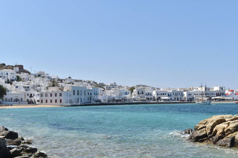 Best Autumn Holidays - Mykonos, Greece