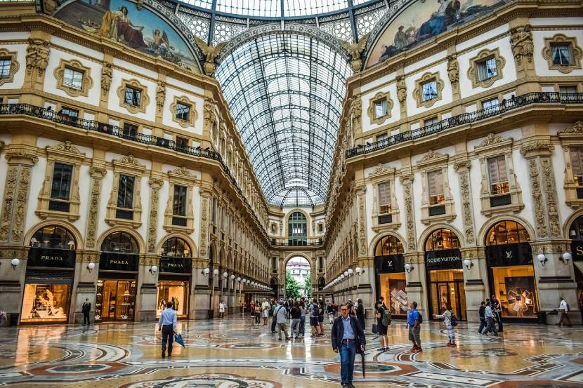 Best things to do in Milan for free - Galleria Vittorio Emanuele