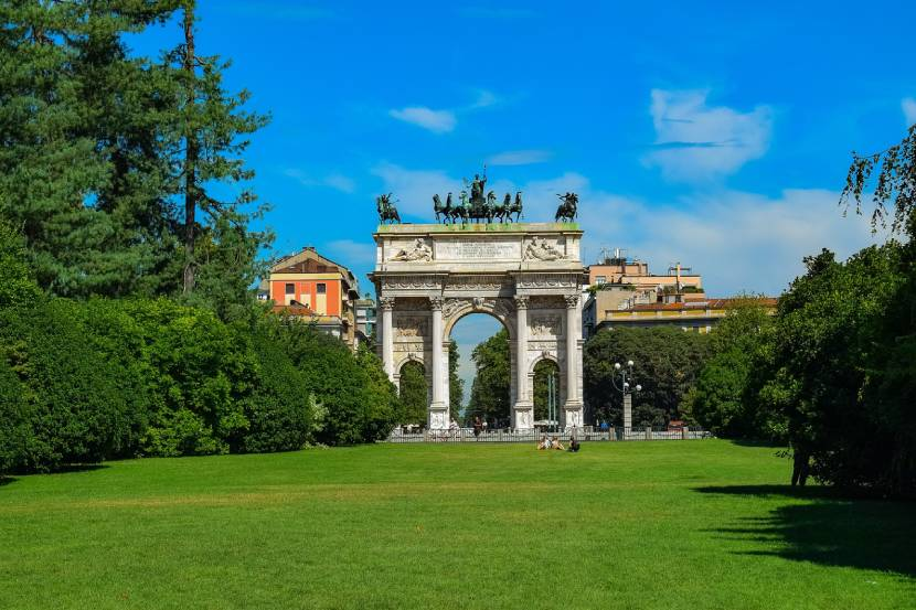est things to do in Milan for free - Parco Sempione