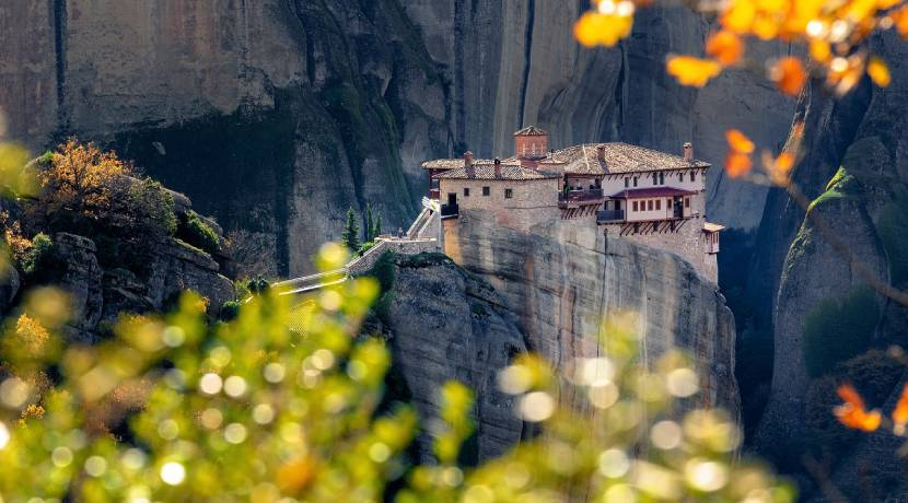 Most Beautiful Churches in Europe - Meteora Monasteries